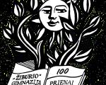 """Prienų-""""Žiburio""""-gimnazija-100-logo"""